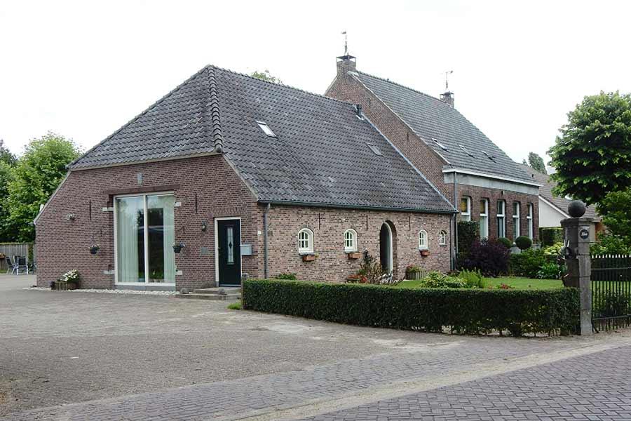 verbouwde woning in Den Dungen