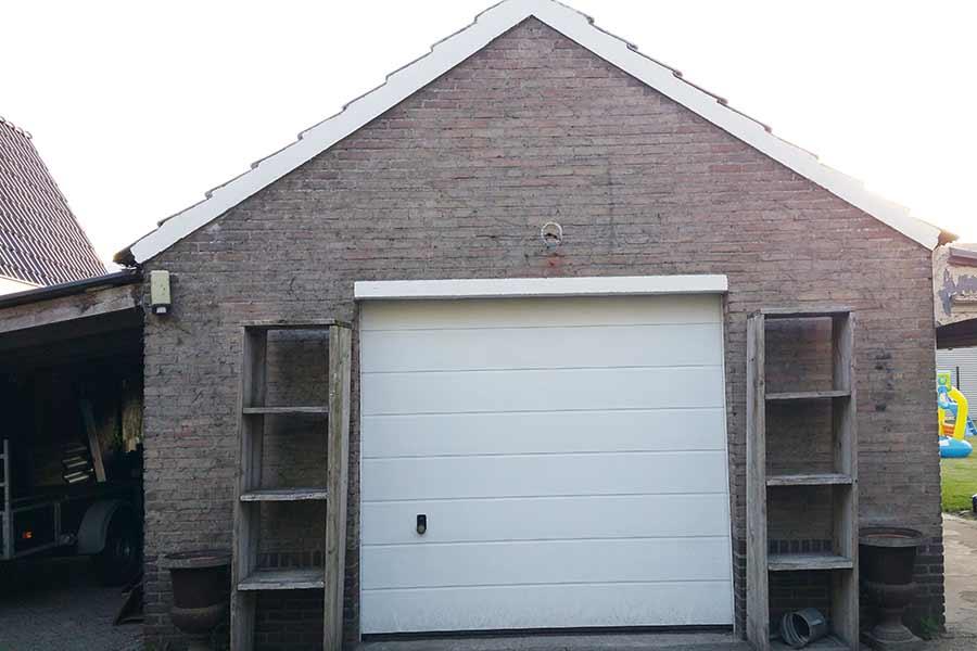 Garage met carport